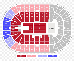 Rabobank Arena Seating Chart With Seat Numbers Individual Tickets U S Bank Arena Png Download