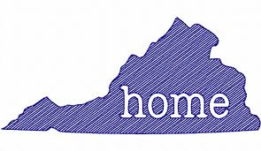 Sketch Style Virginia Home Machine Embroidery Design - Home machine embroidery designs
