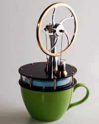 great stocking stuffer for your favorite nerd a coffee cup stirling engine kit i