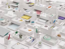 modern modular desk accessories to organize with style  design milk