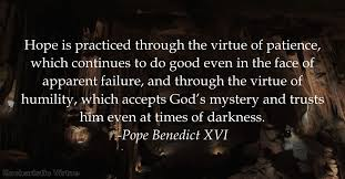 Patience Is A Virtue Quote New Patience Archives Eucharistic Virtue