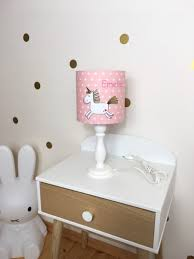 Table Lamp Childrens Room Childrens Lamp Unicorn Etsy