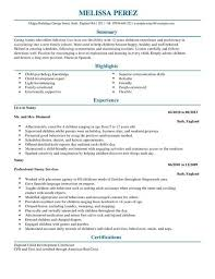 Examples Of Nanny Resumes Mesmerizing Sample Nanny Resume Lovely Babysitter Resume 28d Resume Nannying