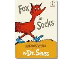 Small Picture Dr Seuss Fox in Socks