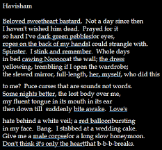 poem by carol ann duffy about miss havisham from great  poem by carol ann duffy about miss havisham from great expectations