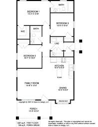 simple floor plans. Basic Home Floor Plans Simple Ranch Style Small A Unique House