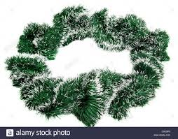 Green Tinsel Wreath With Twinkling Lights Tinsel Stock Photos Tinsel Stock Images Alamy
