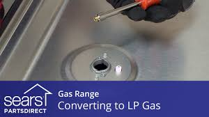 kenmore 02273433. converting a gas range to operate on lp kenmore 02273433 u