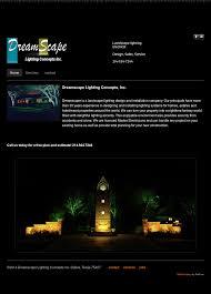 Dreamscape Lighting Dreamscape Lighting Concepts Competitors Revenue And