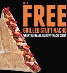taco bell grilled stuffed nacho. Fine Stuffed TACO In Taco Bell Grilled Stuffed Nacho