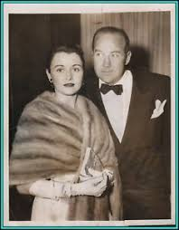 BRODERICK CRAWFORD & KAY GRIFFITH (Wife) -Original Photo at The Oscars  w/Caption | eBay