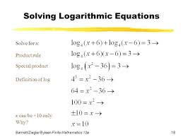 solving natural log equations logarithmic calculator wolfram no