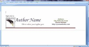creating letterhead in word microsoft word 2007 business card template inspirational creating