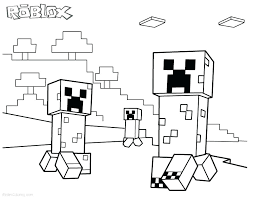 Printable Coloring Pages Minecraft Sexysleep Co
