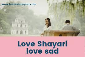 hindi shayari love sad 2 line love