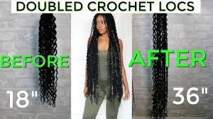 Diy Customized Faux Locs Double The Length Of Your Crochet Locs Ft Shopbeautydepot