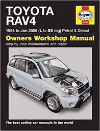 Toyota RAV4 Petrol Diesel 1994 2006 Haynes Service Repair Manual ...