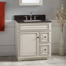 30 misschon vanity for rectangular undermount sink rustic off white
