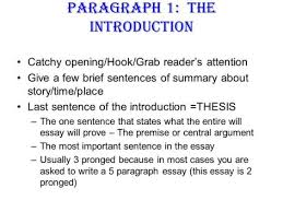 What Are The Parts Of An Essay