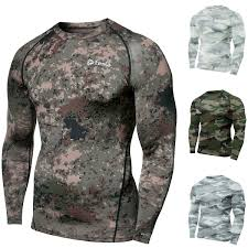 Tesla Compression Shirt Size Chart Tsla Tesla R11 Cool Dry Baselayer Antimicrobial Long Sleeve Compression Shirt