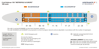 Embraer E90 Seating Chart 52 True To Life Emb 190 Seating Chart
