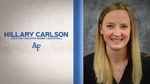 Women's Hoops Brings on Hillary Carlson as an Assistant Coach - Air Force  Academy Athletics