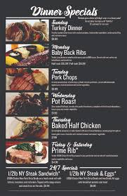 specials menu dining menu the lakes lounge restaurant and gaming bar