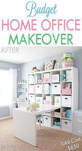 craft room home office design. home office makeover reveal craft room design