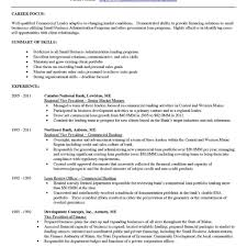 Relationship Resume Examples Personal banker resume examples sample intended for relationship 5