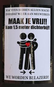 Update: Gemeente gaat stickers tegen coronamaatregelen verwijderen | Nieuws  | Nieuws uit Delden - het laatste nieuws als eerste!