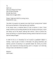 School Nurse Cover Letter Samples Cover Letter For Nursing Resumes