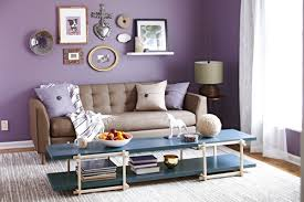 Small Picture 10 Beautiful Purple Living Room Design Ideas