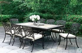 charissa antique black outdoor patio