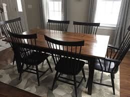 shaker farm table 72