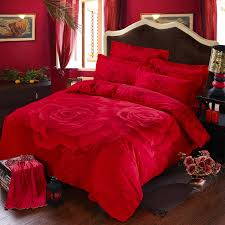 impressive roses bedding set red rose printed romantic sets ebeddingsets