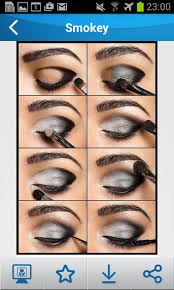 eye makeup step by 1mobile