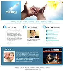 Free Church Website Templates Impressive Free Christian Web Page Templates Free Church Web Templates