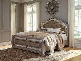 Silver Furniture Bedroom B720 Bedroom In Silver Finish By Ashley Furniture