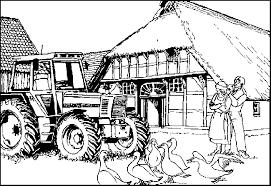 Boerderij Kleurplaat Animaatjesnl