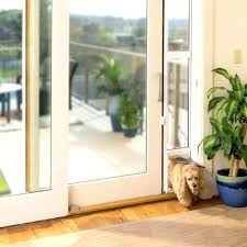 large dog door for sliding glass door sliding door dog door freedom sliding glass pet door