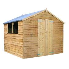 this waltons overlap wooden shed is the perfect storage solution for those wanting to maximise their outside space made from quality materials this