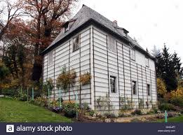 House used as a summer house by German author Goethe in Weimar Germany