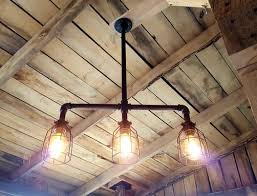 rustic industrial chandelier black pipe with cages modern industrial chandelier free