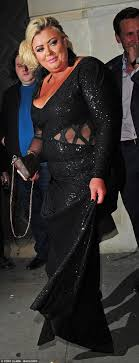 Gemma Collins smiles as James Argent leaves her home | Daily Mail ...