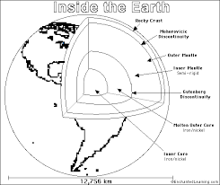 Small Picture Earth PrintoutColoring Page EnchantedLearningcom
