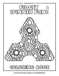 Perfect Decoration Fidget Spinner Coloring Pages Printable Download