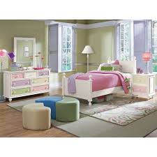 High Quality Kids Furniture   Colorworks 6 Piece Twin Bedroom Set   White