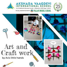 Akshara Vaagdevi International School - Art and craft by AVIS little hands  | Facebook