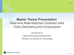 ms thesis FAMU Online