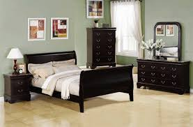 Louis Philippe Cappuccino w/Marble Top Bedroom Set by Coaster